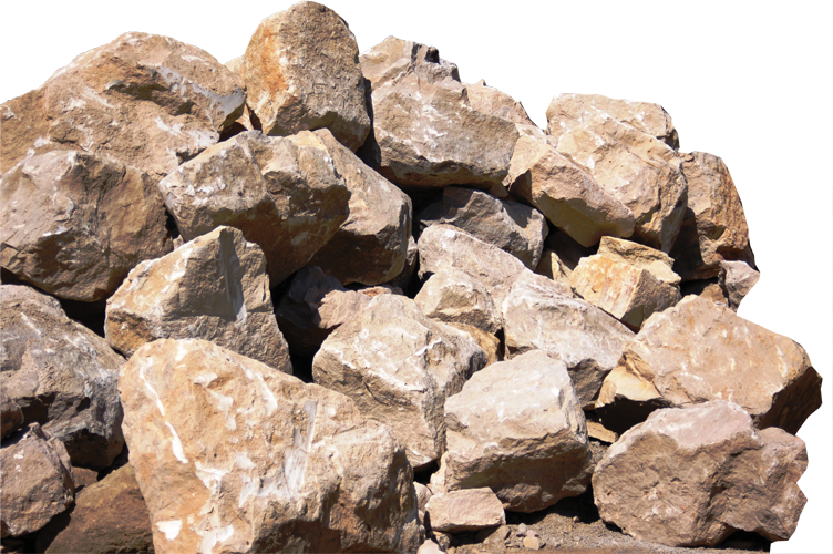 Brown Buff Boulders