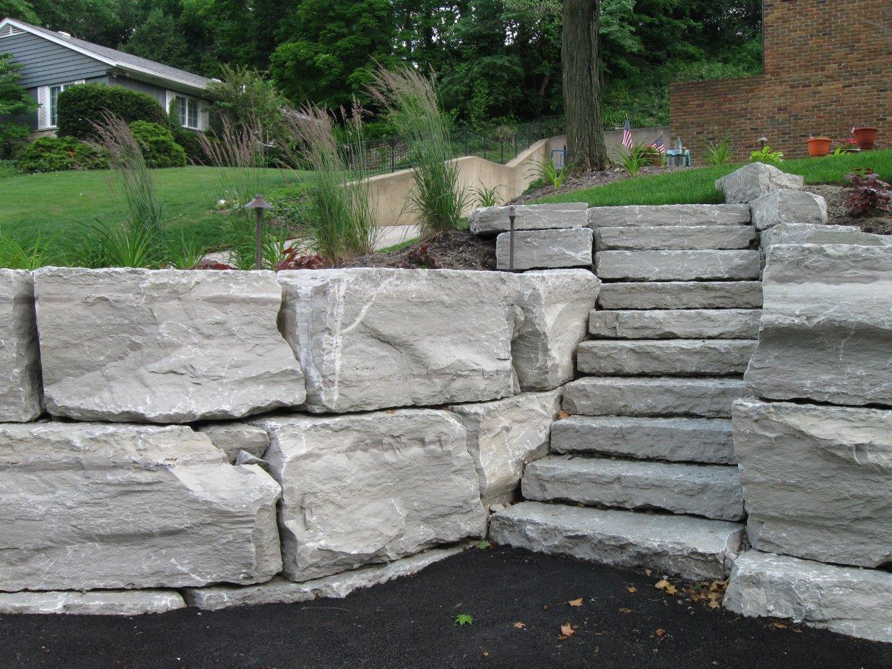 Canyon Gray Split Products Ohio Stone