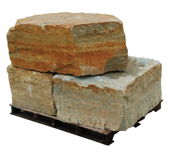Rustic Buff Accent Chunks